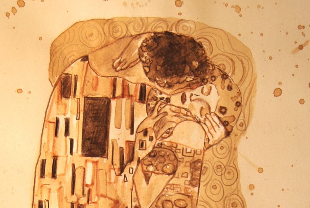 Dipingere con il caffè, si può!