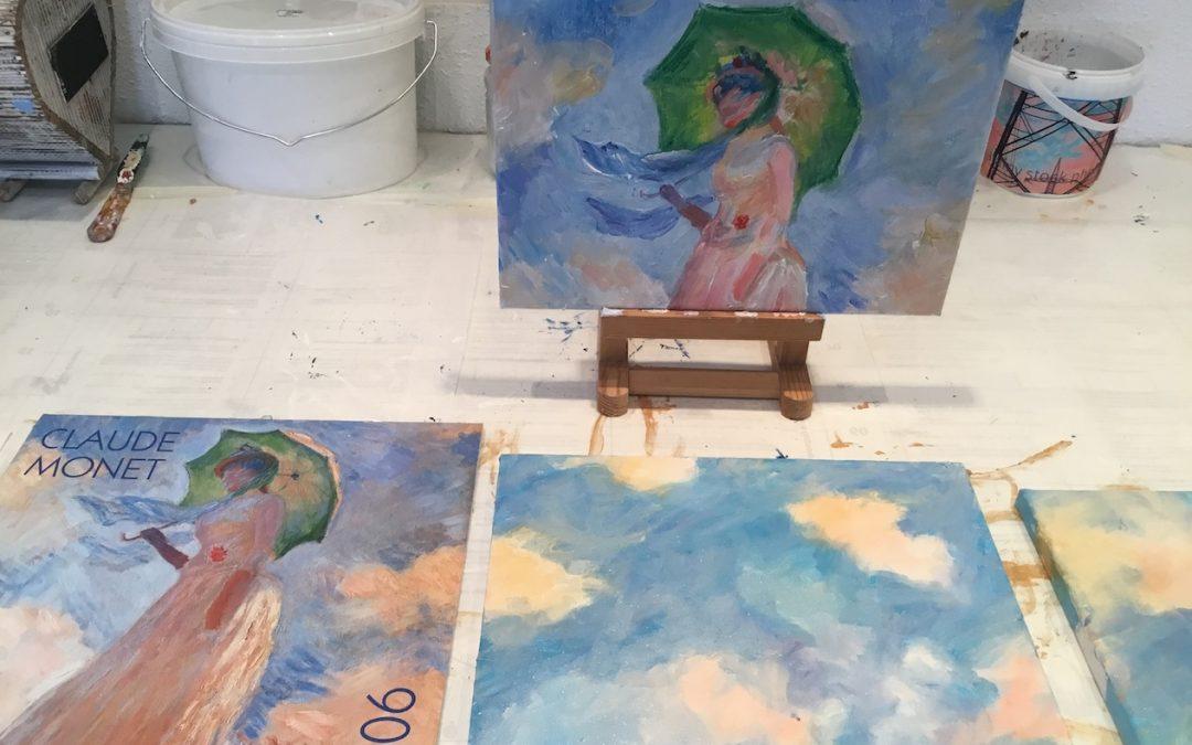 Sviluppa il tuo stile pittorico con un esercizio di creatività.