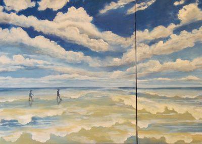 """""""Low Tide"""" 2015 (80x120cm)"""