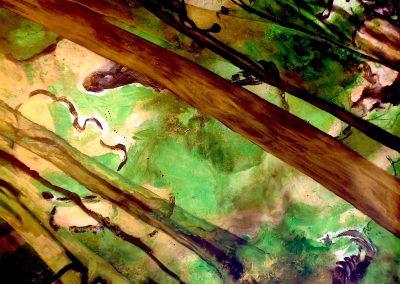"""Emerald Trees"" 2016 (125x149cm)"
