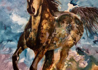 """Freedom"" 2017 (80x100cm)"