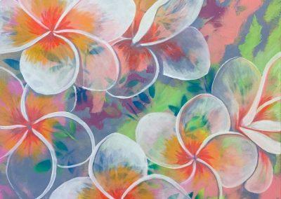 """My Flower"" 2016 (80x60cm)"