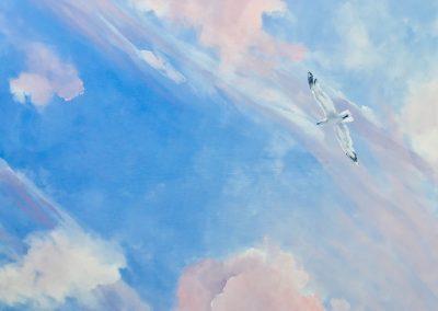 Pink Clouds 2018 (80x100 cm)